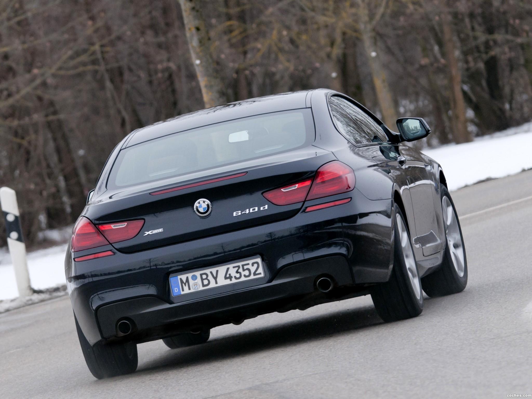 Foto 7 de BMW Serie 6 640d xDrive Coupe M Sport Package F12 2012