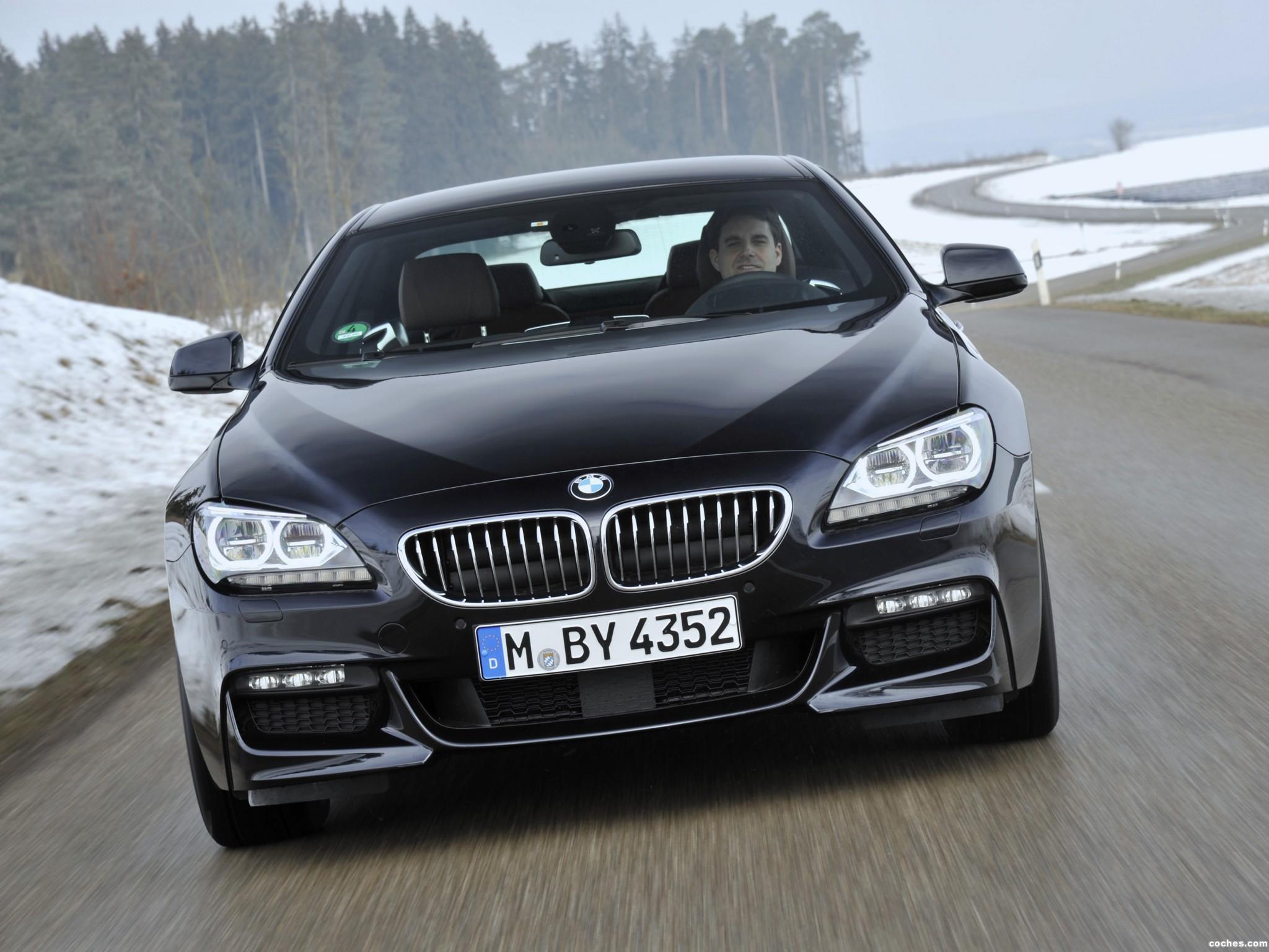 Foto 2 de BMW Serie 6 640d xDrive Coupe M Sport Package F12 2012