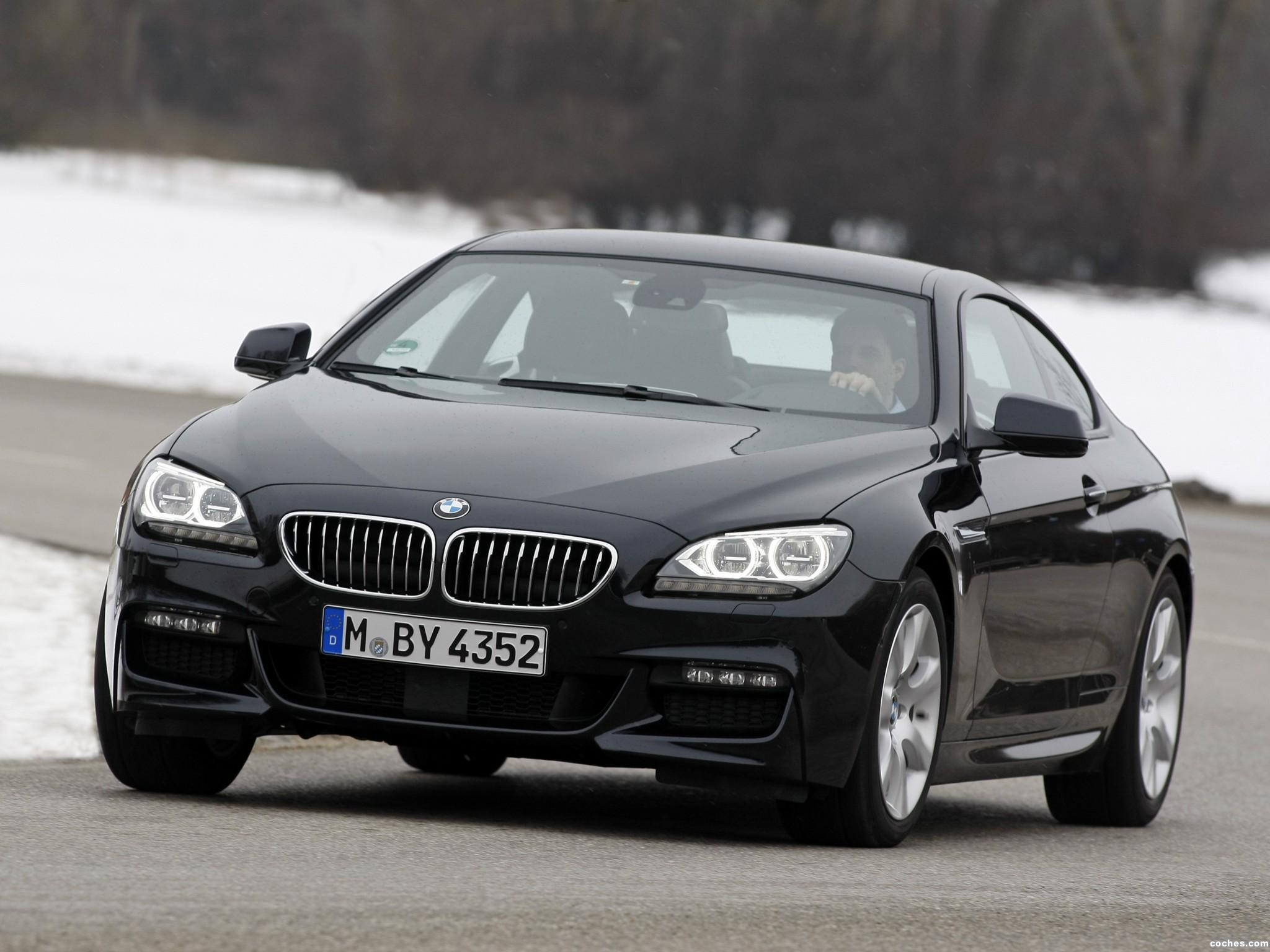 Foto 0 de BMW Serie 6 640d xDrive Coupe M Sport Package F12 2012