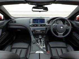 Ver foto 12 de BMW Serie 6 640i Cabrio F13 UK 2011