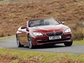 Ver foto 2 de BMW Serie 6 640i Cabrio F13 UK 2011