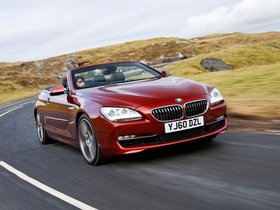Fotos de BMW Serie 6 640i Cabrio F13 UK 2011