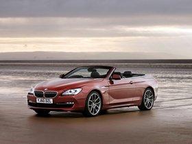 Ver foto 10 de BMW Serie 6 640i Cabrio F13 UK 2011