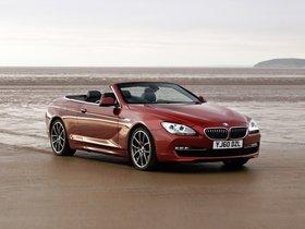 Ver foto 9 de BMW Serie 6 640i Cabrio F13 UK 2011