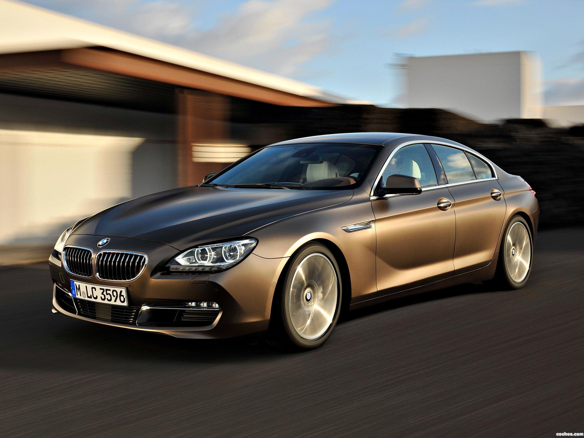 Foto 0 de BMW Serie 6 640i Gran Coupe F06 2012
