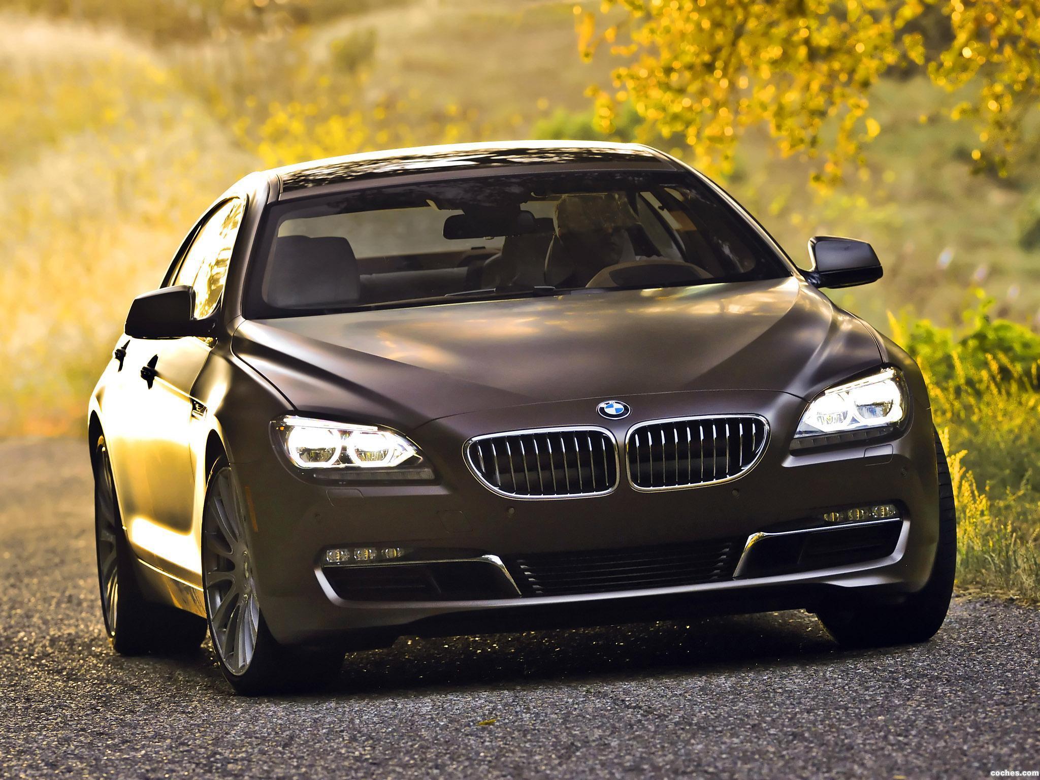 Foto 0 de BMW Serie 6 640i Gran Coupe F06 USA 2012