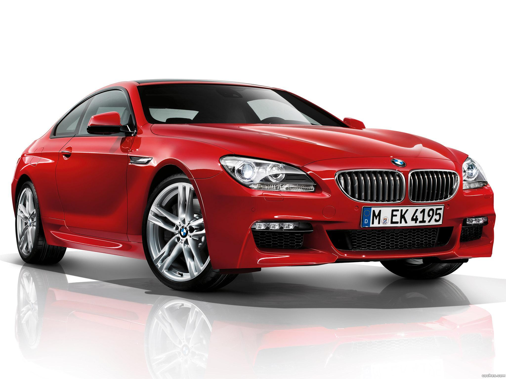 Foto 0 de BMW Serie 6 650i Coupe M Sport Package F12 2011