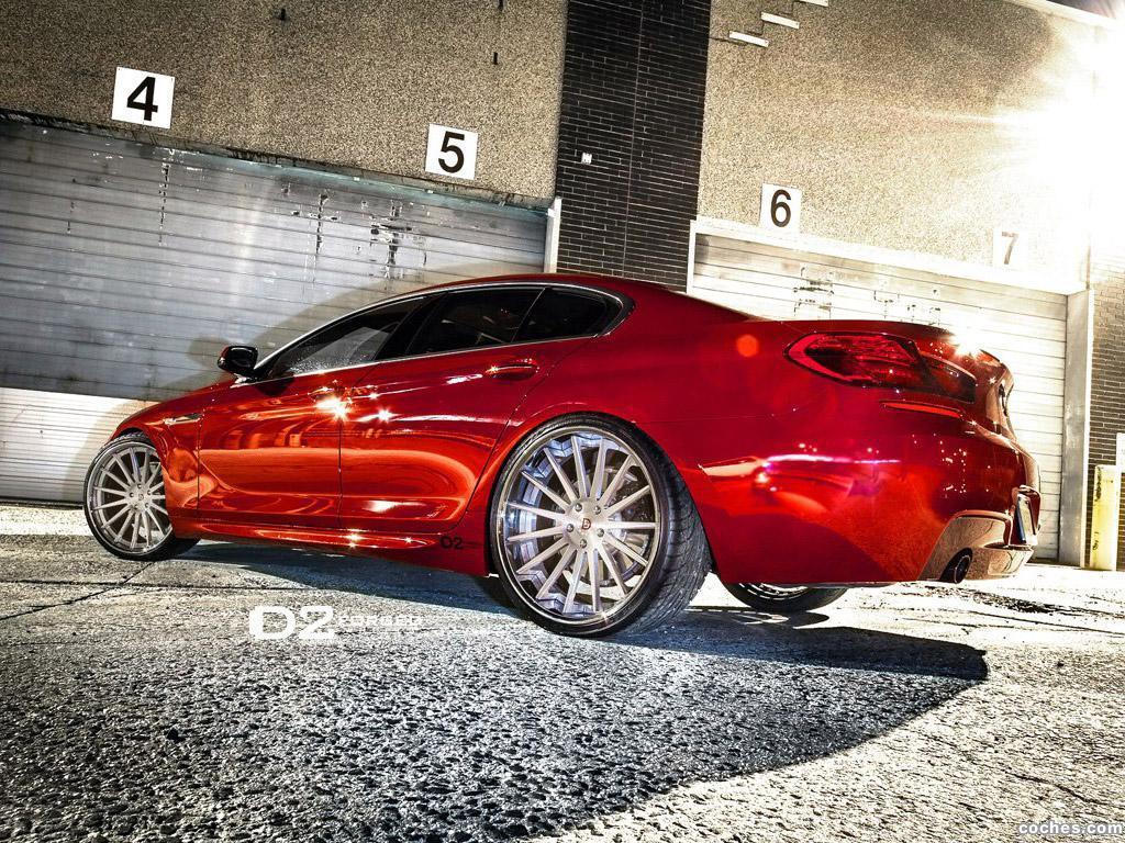 Foto 2 de BMW Serie 6 650i Gran Coupe D2Forged CV15 2013