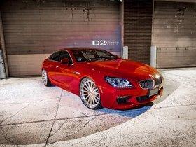 Ver foto 6 de BMW Serie 6 650i Gran Coupe D2Forged CV15 2013