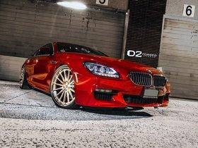 Ver foto 1 de BMW Serie 6 650i Gran Coupe D2Forged CV15 2013