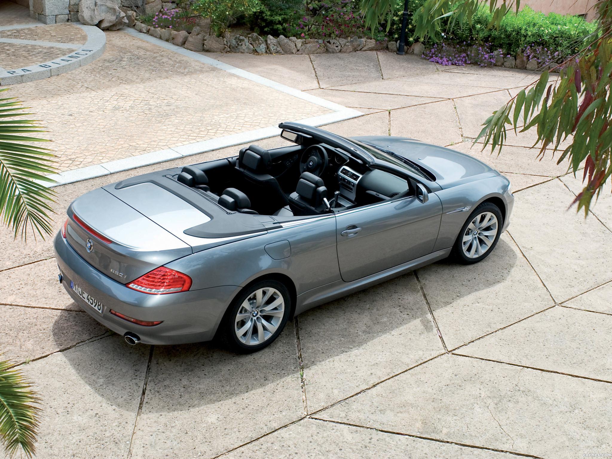 Foto 6 de BMW Serie 6 Cabrio Facelift E63 2008