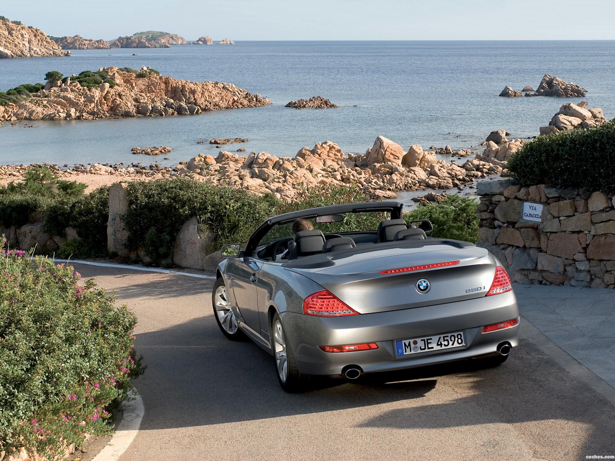 Foto 1 de BMW Serie 6 Cabrio Facelift E63 2008