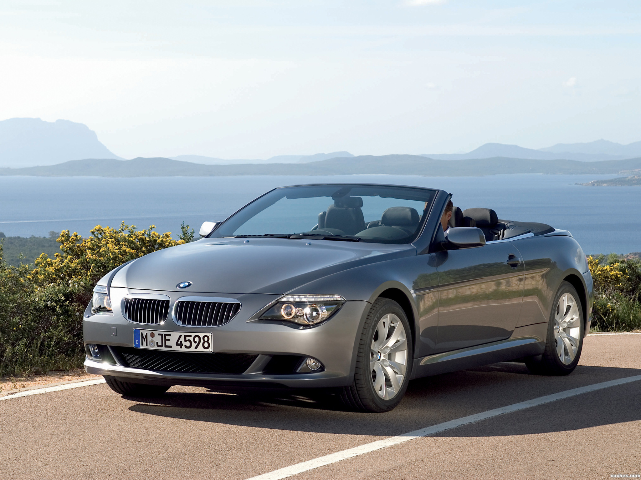 Foto 0 de BMW Serie 6 Cabrio Facelift E63 2008