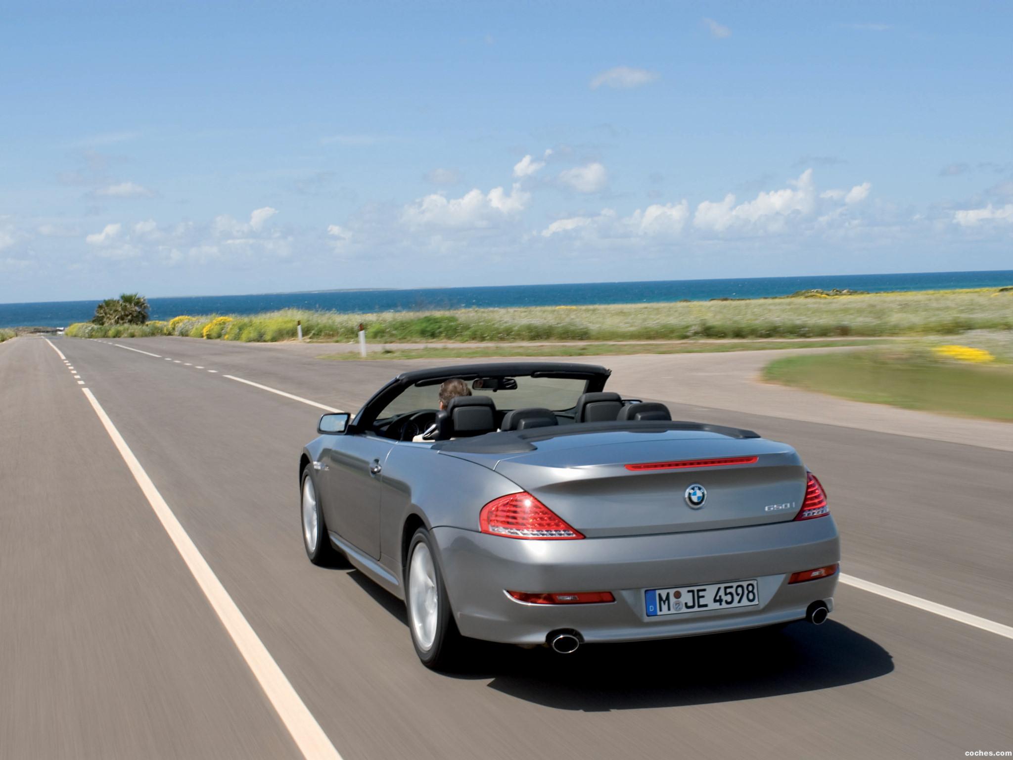 Foto 15 de BMW Serie 6 Cabrio Facelift E63 2008