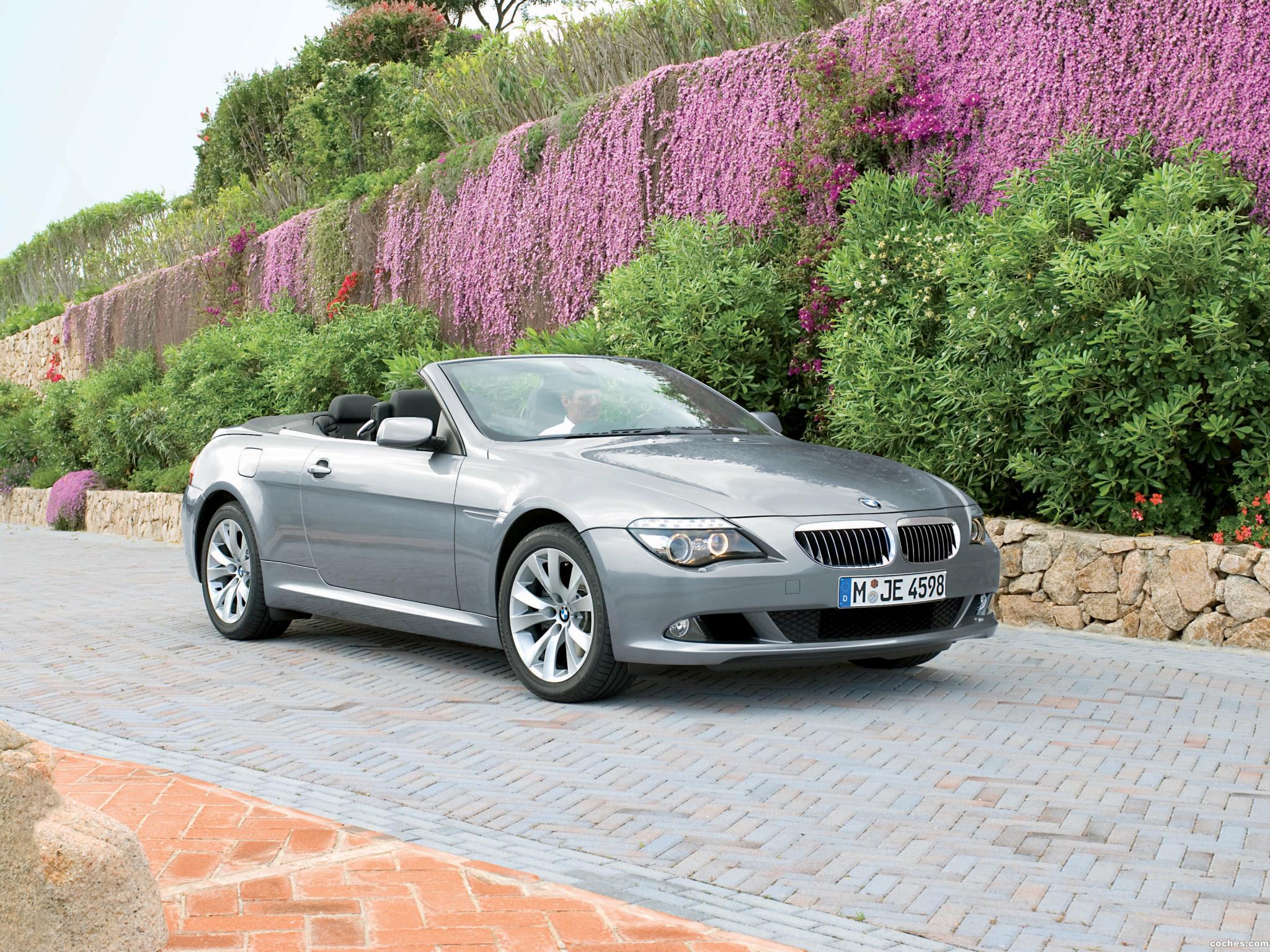 Foto 13 de BMW Serie 6 Cabrio Facelift E63 2008