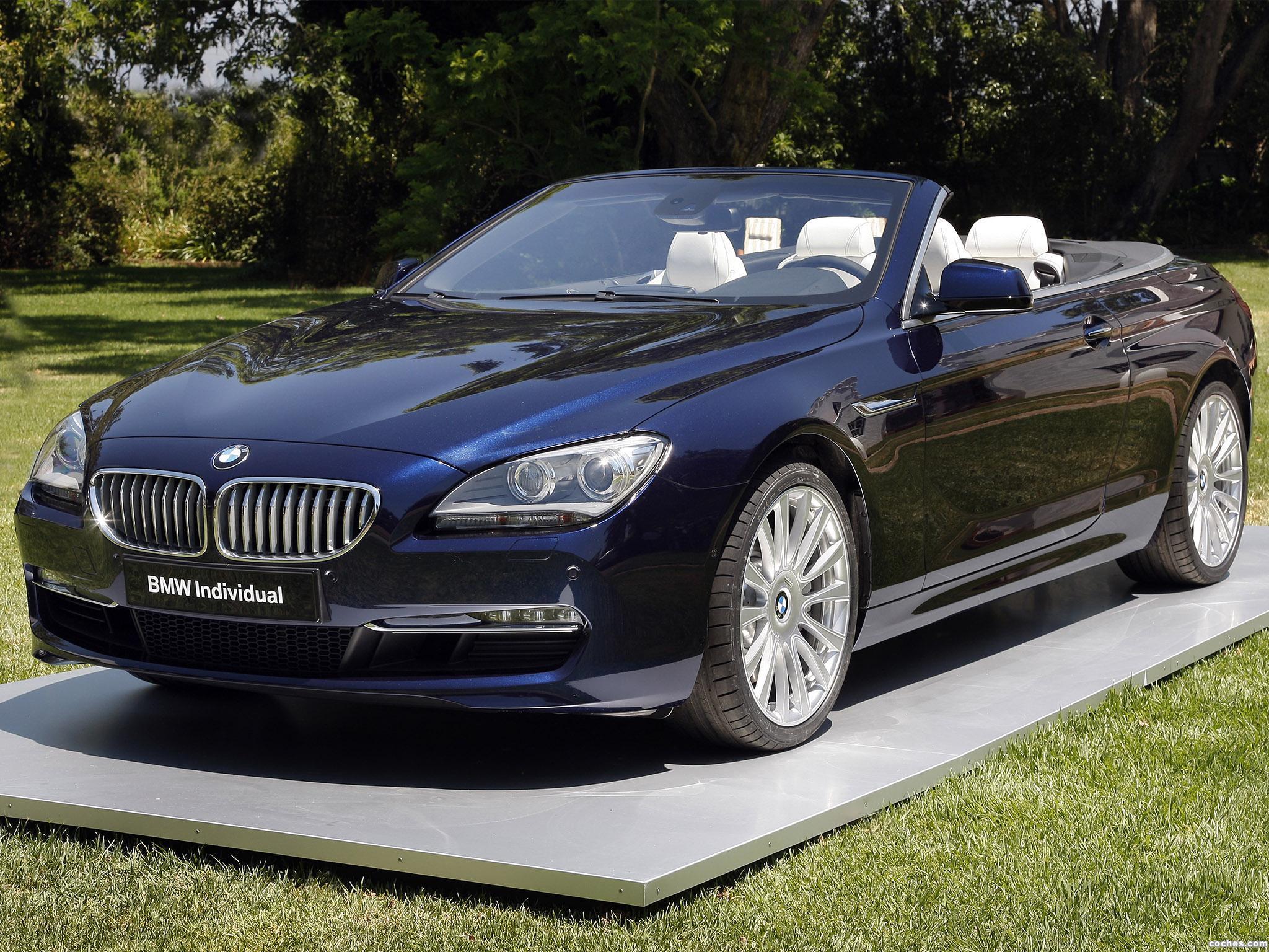 Foto 0 de BMW Serie 6 Convertible Individual 2011