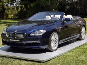 Fotos de BMW Serie 6 Convertible Individual 2011