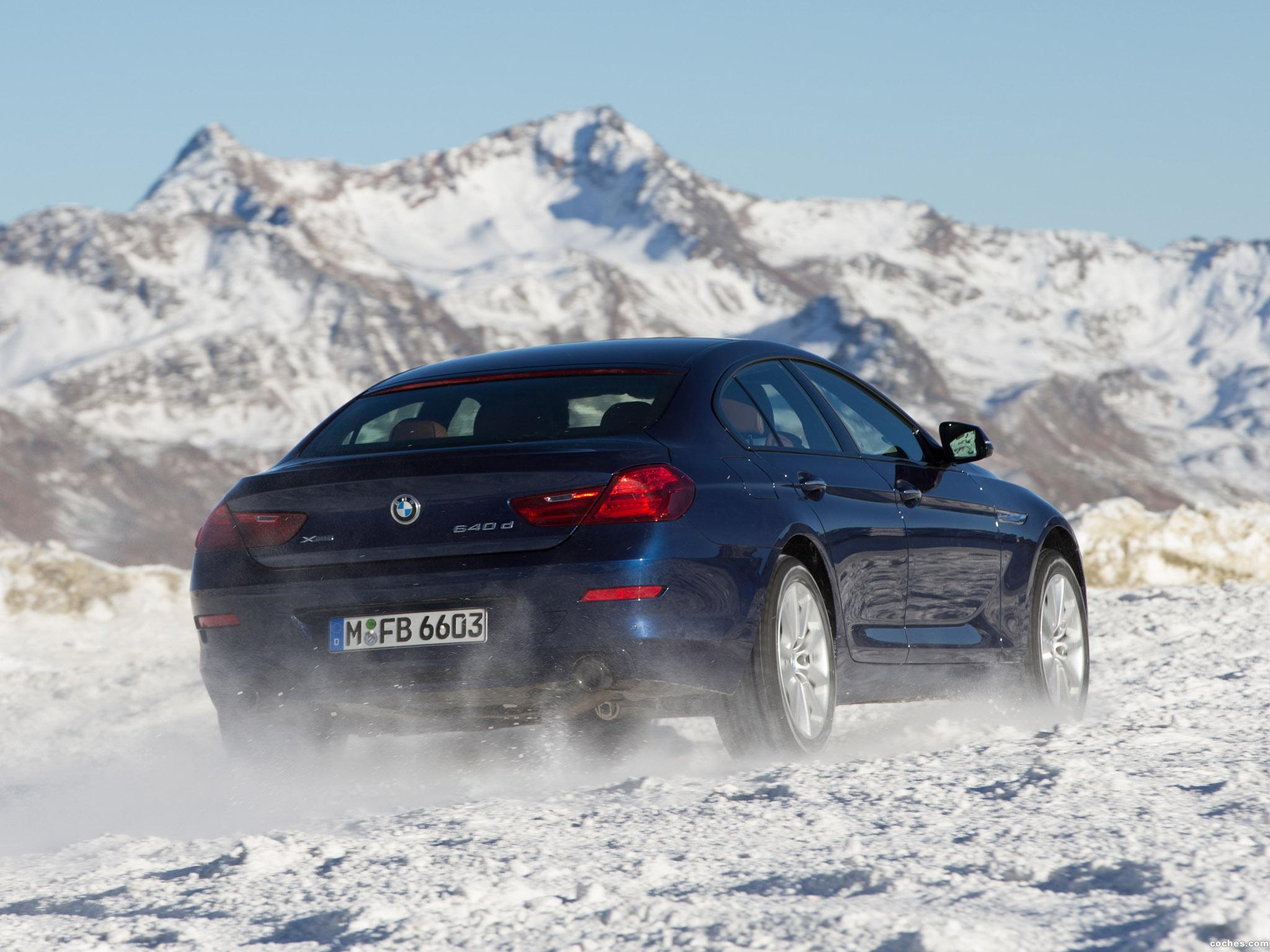Foto 13 de BMW 640d xDrive Gran Coupe F06 2015