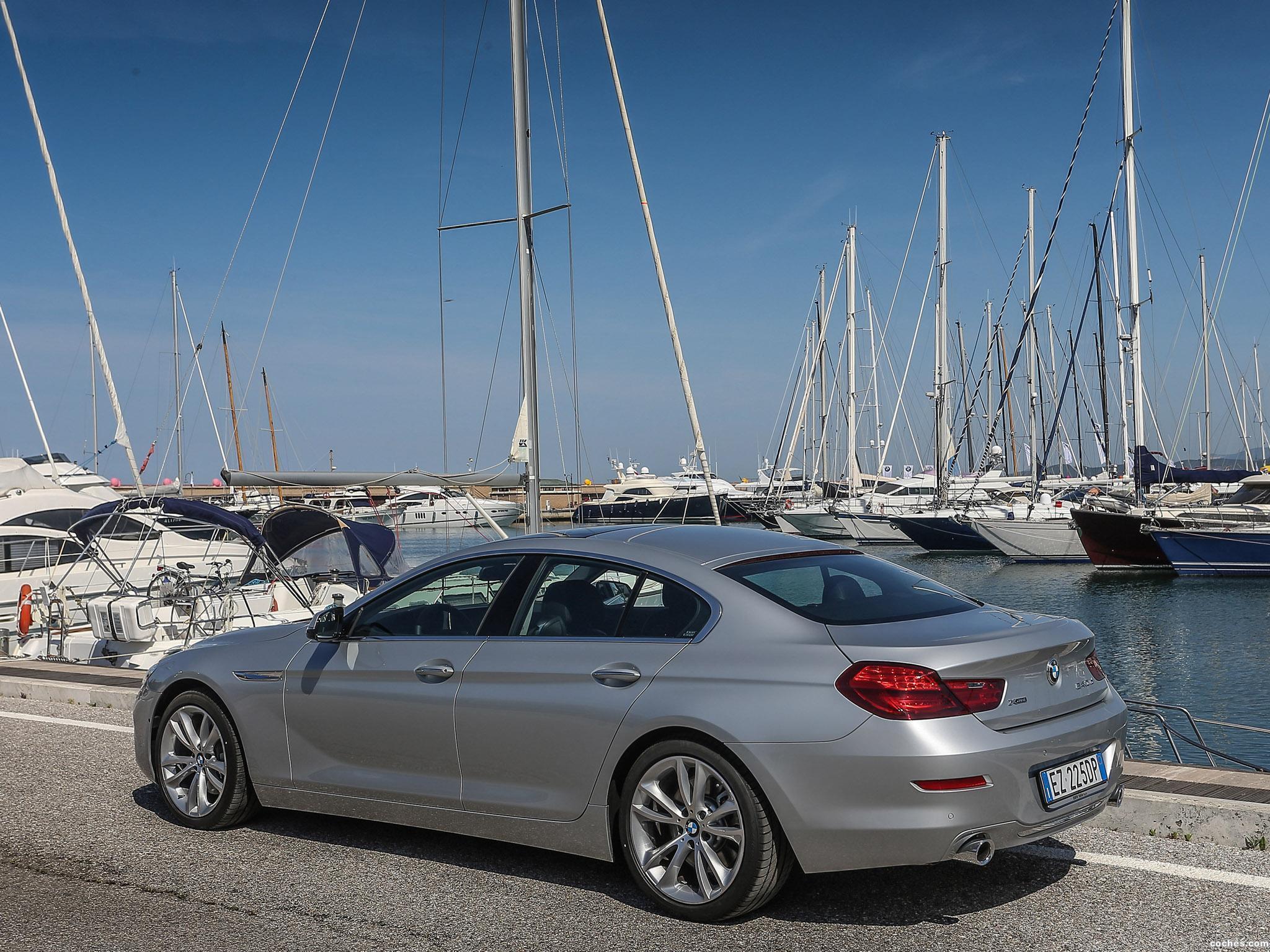 Foto 5 de BMW 640d xDrive Gran Coupe F06 2015
