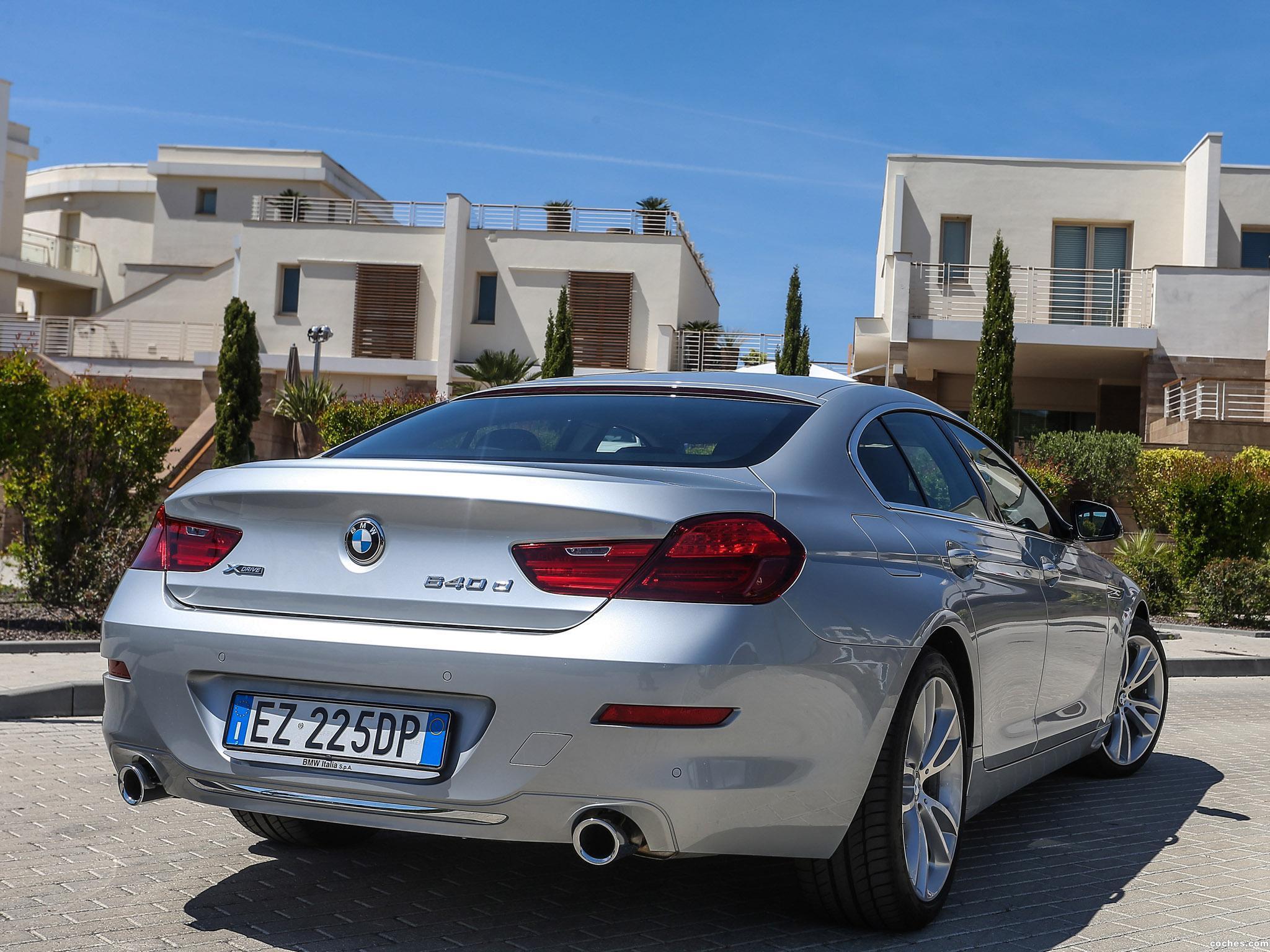 Foto 1 de BMW 640d xDrive Gran Coupe F06 2015