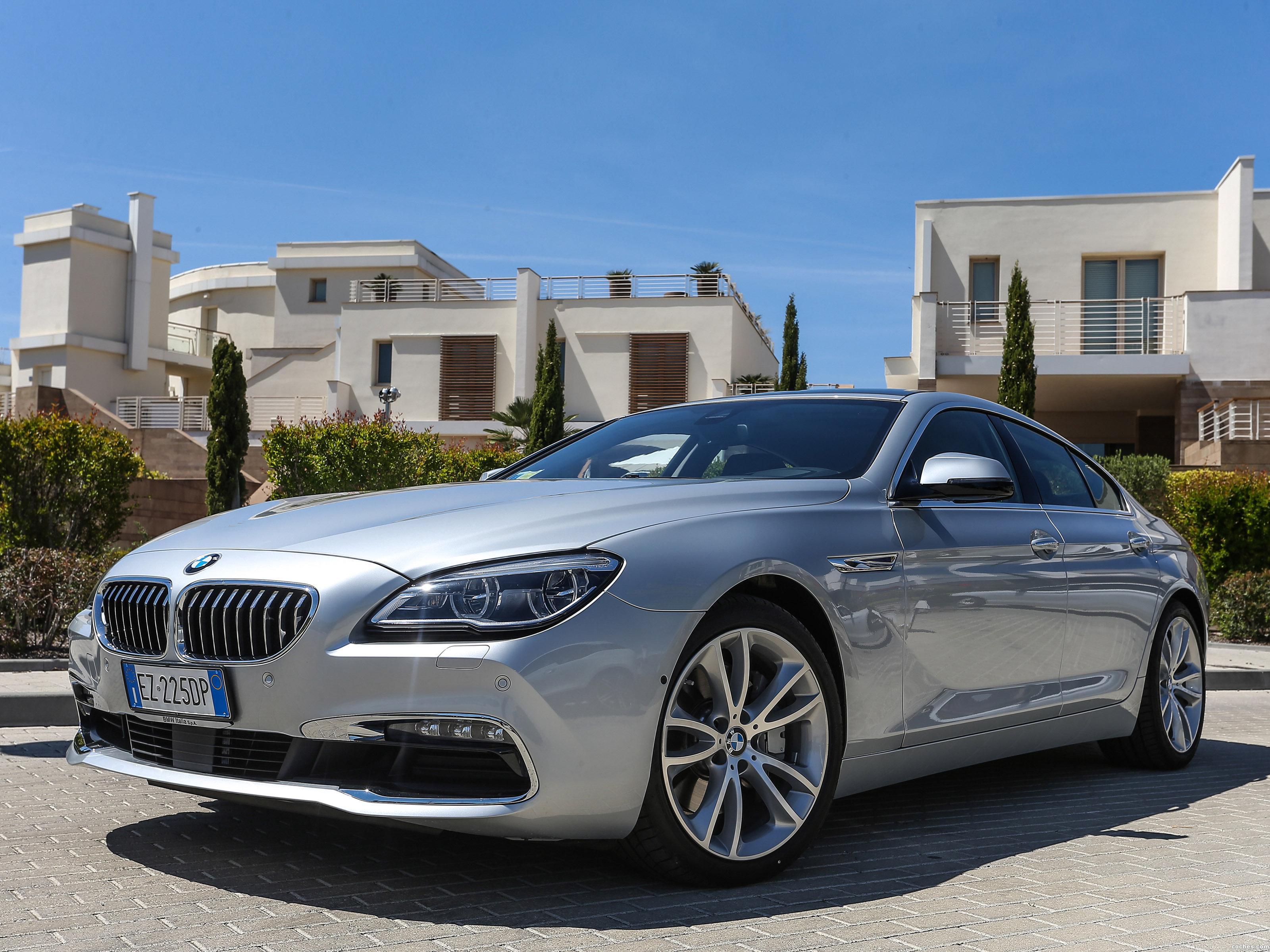 Foto 0 de BMW 640d xDrive Gran Coupe F06 2015