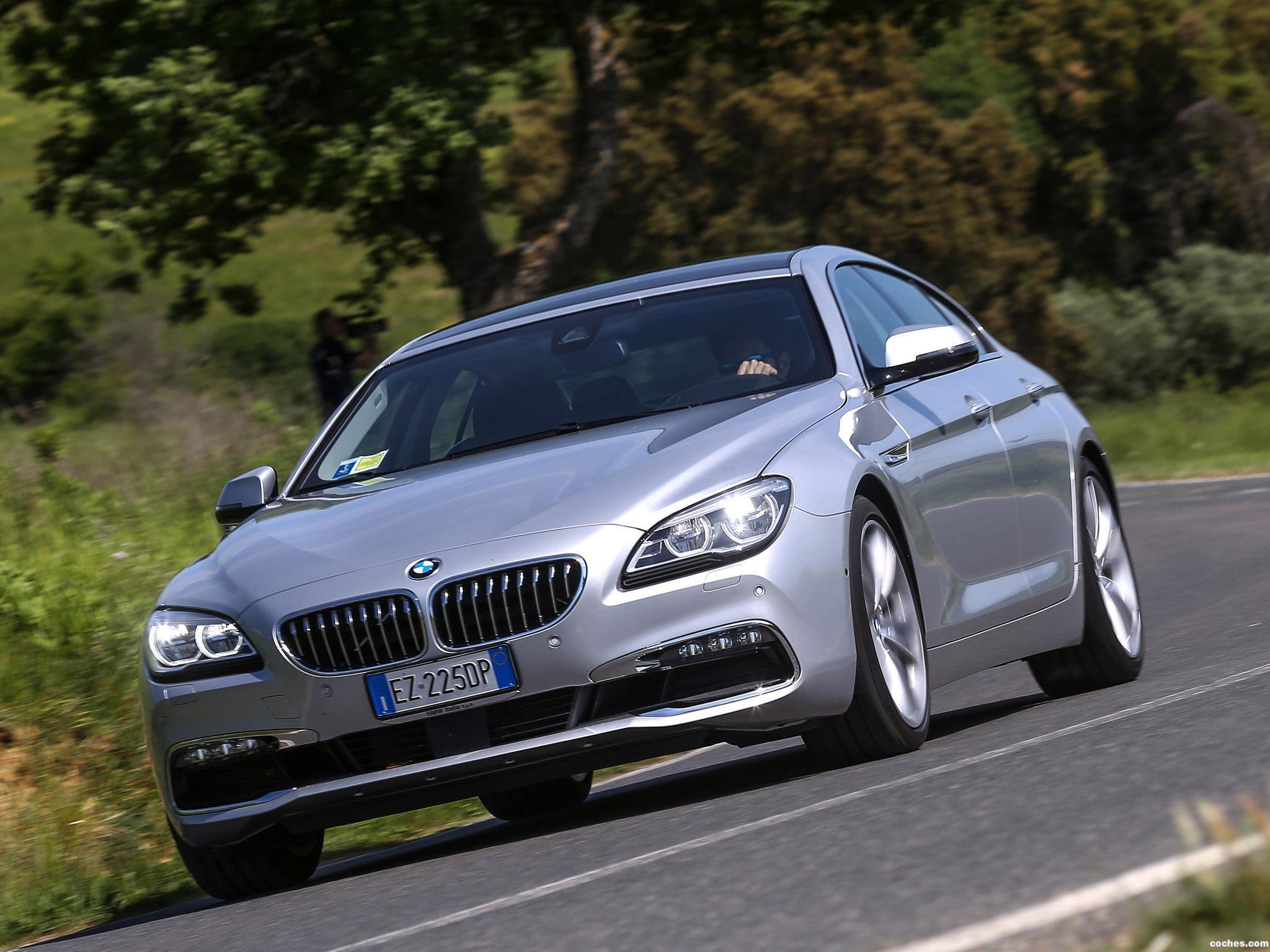 Foto 20 de BMW 640d xDrive Gran Coupe F06 2015