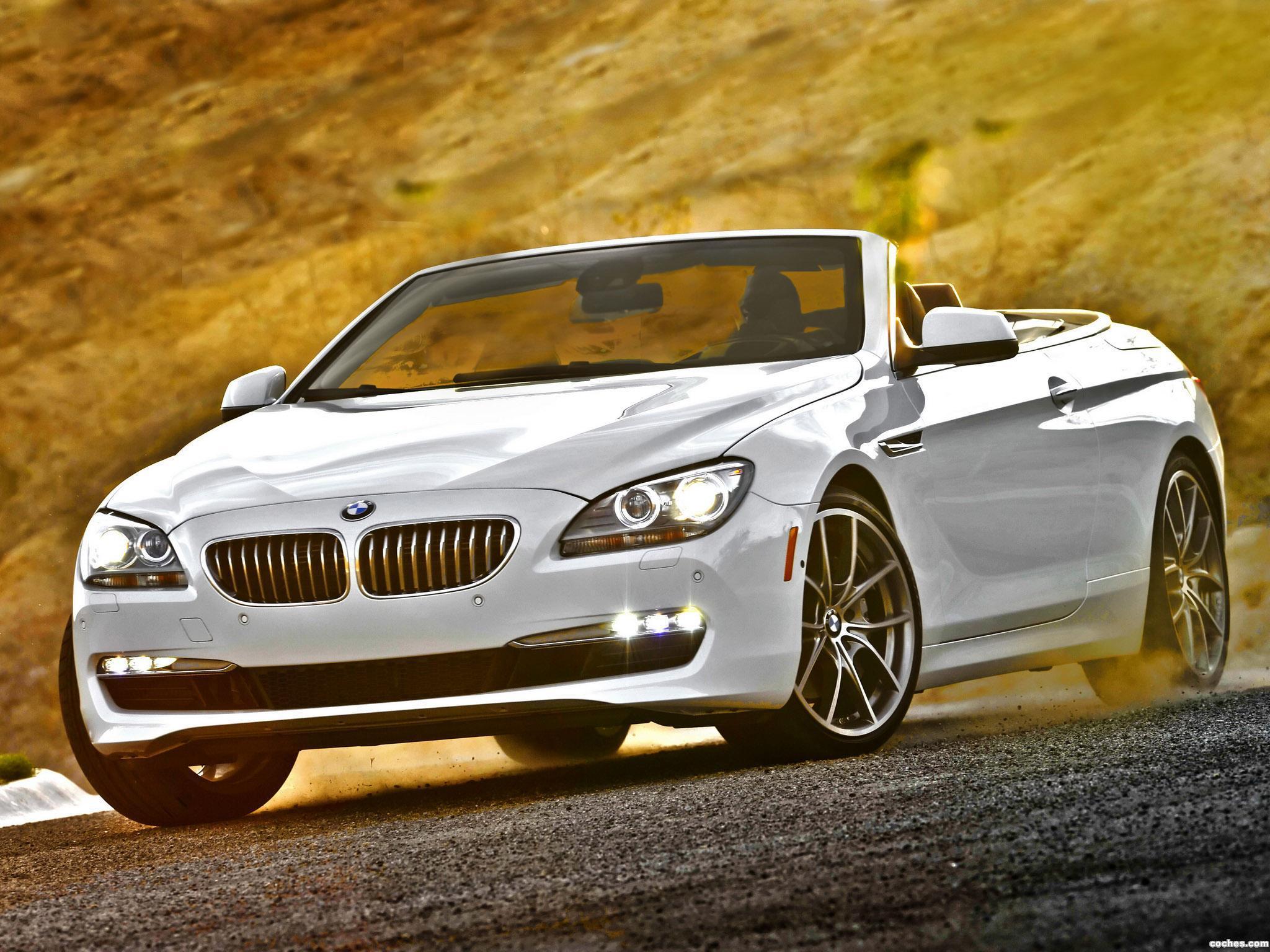 Foto 0 de BMW Serie 6 650i Cabrio USA F13 2011