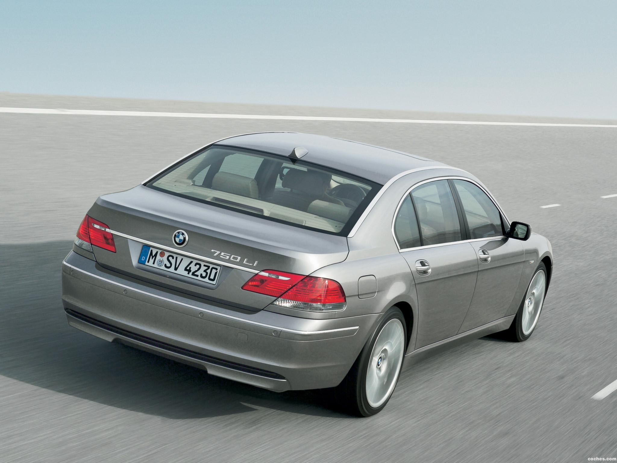 Foto 11 de BMW Serie 7 E66 Facelift 2005