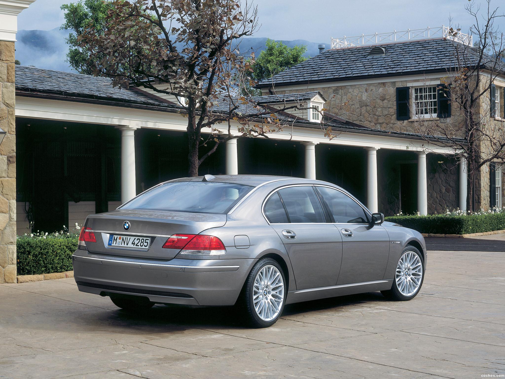 Foto 9 de BMW Serie 7 E66 Facelift 2005