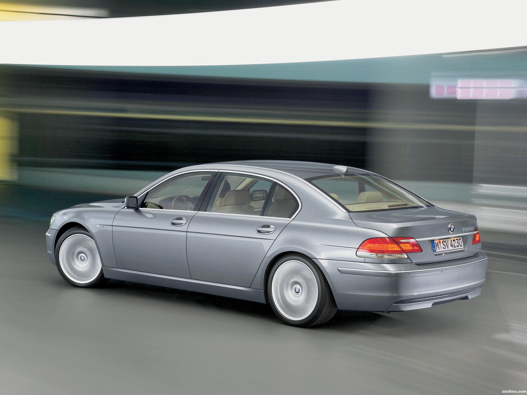 Foto 8 de BMW Serie 7 E66 Facelift 2005