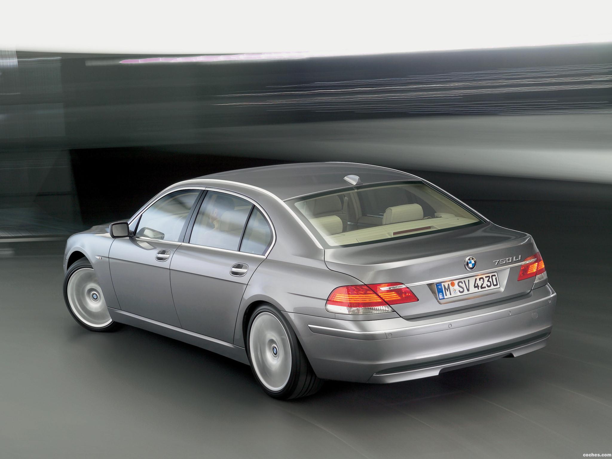 Foto 7 de BMW Serie 7 E66 Facelift 2005