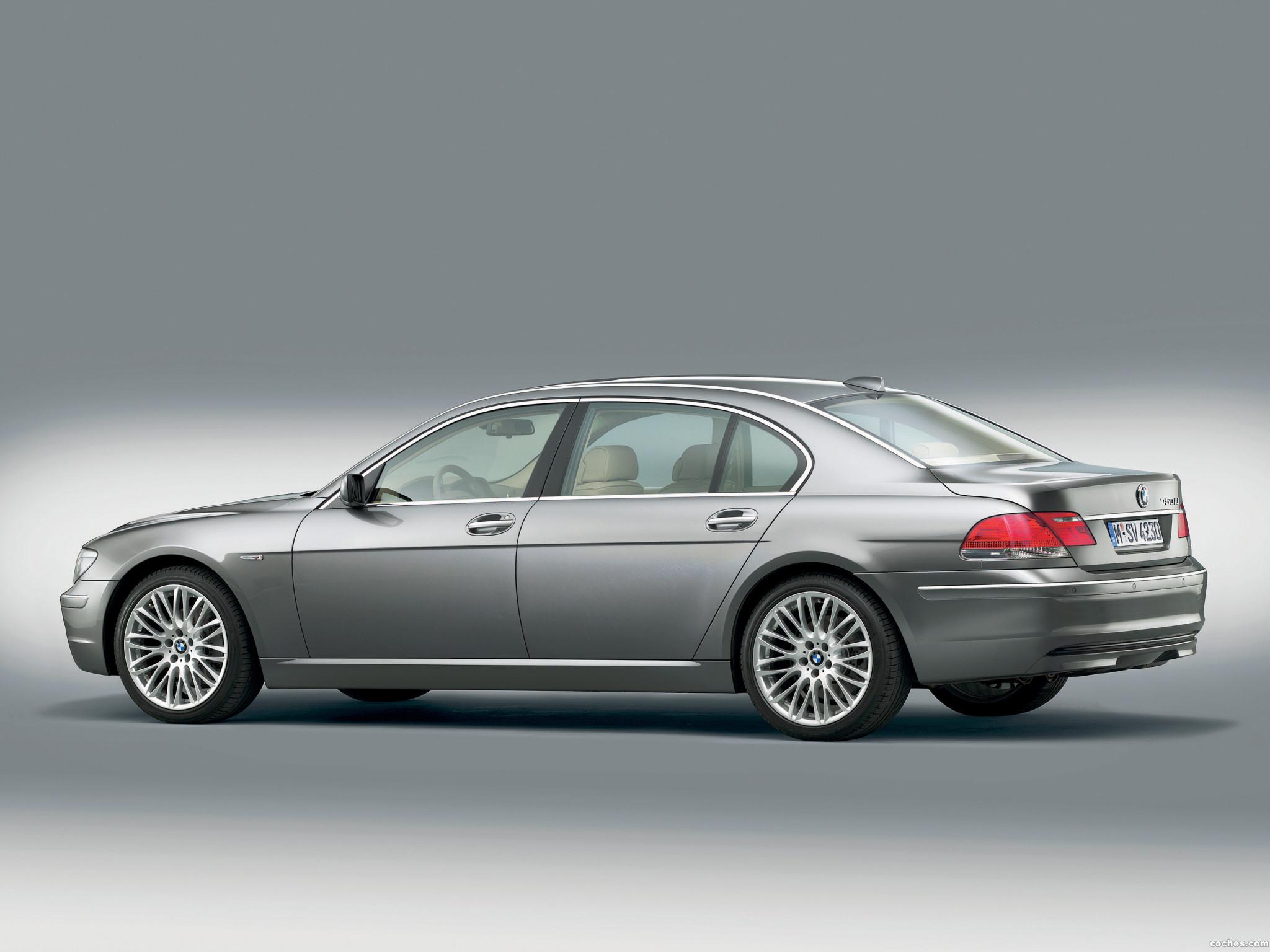 Foto 4 de BMW Serie 7 E66 Facelift 2005
