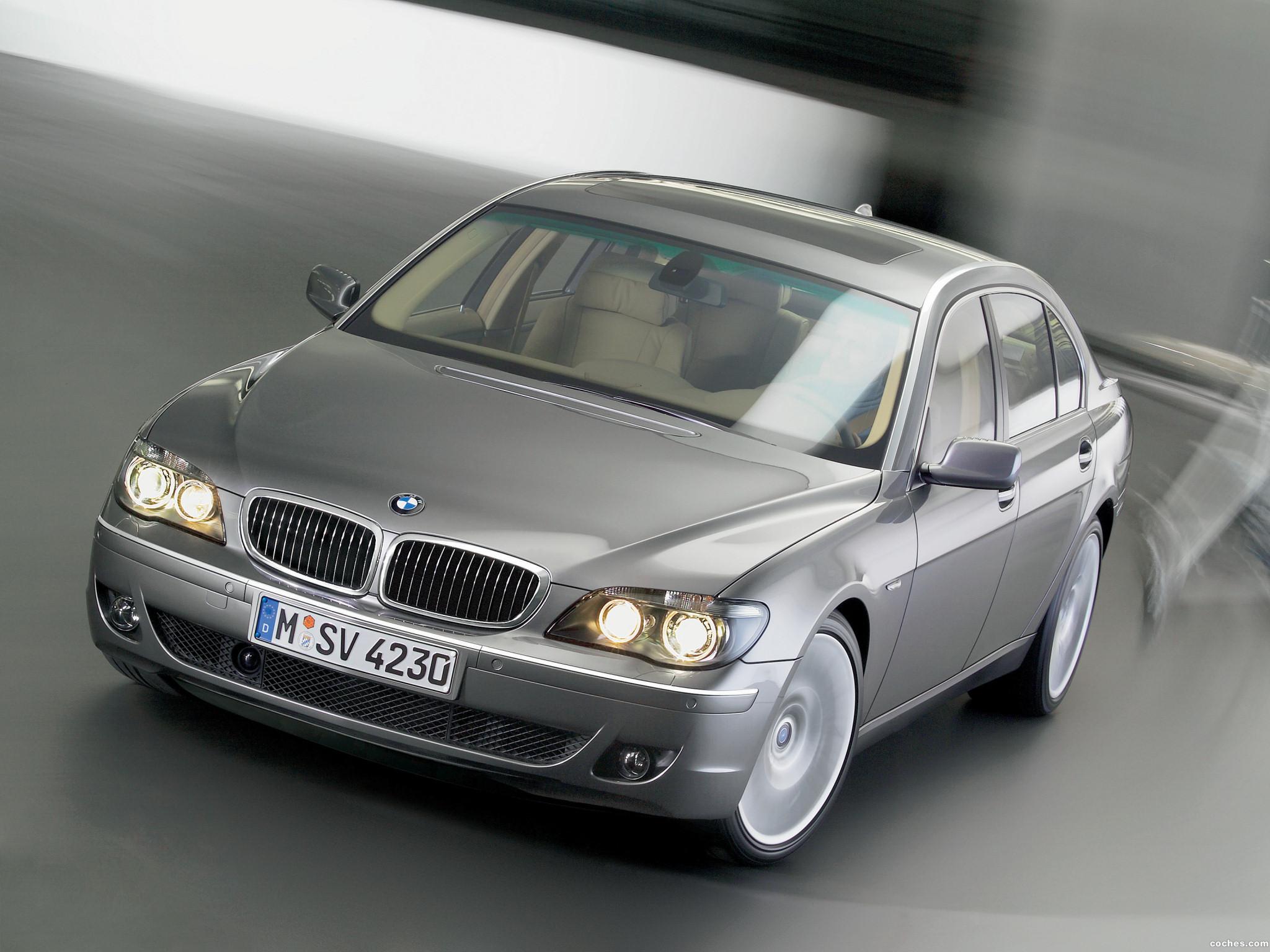 Foto 20 de BMW Serie 7 E66 Facelift 2005