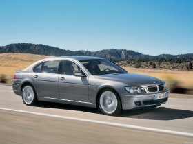 Fotos de BMW Serie 7 E66 Facelift 2005