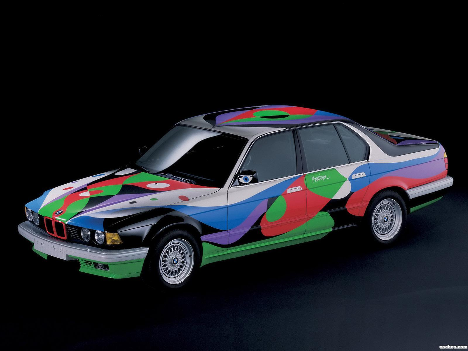 Foto 0 de BMW Serie 7 730i Art Car by Cesar Manrique E32 1990