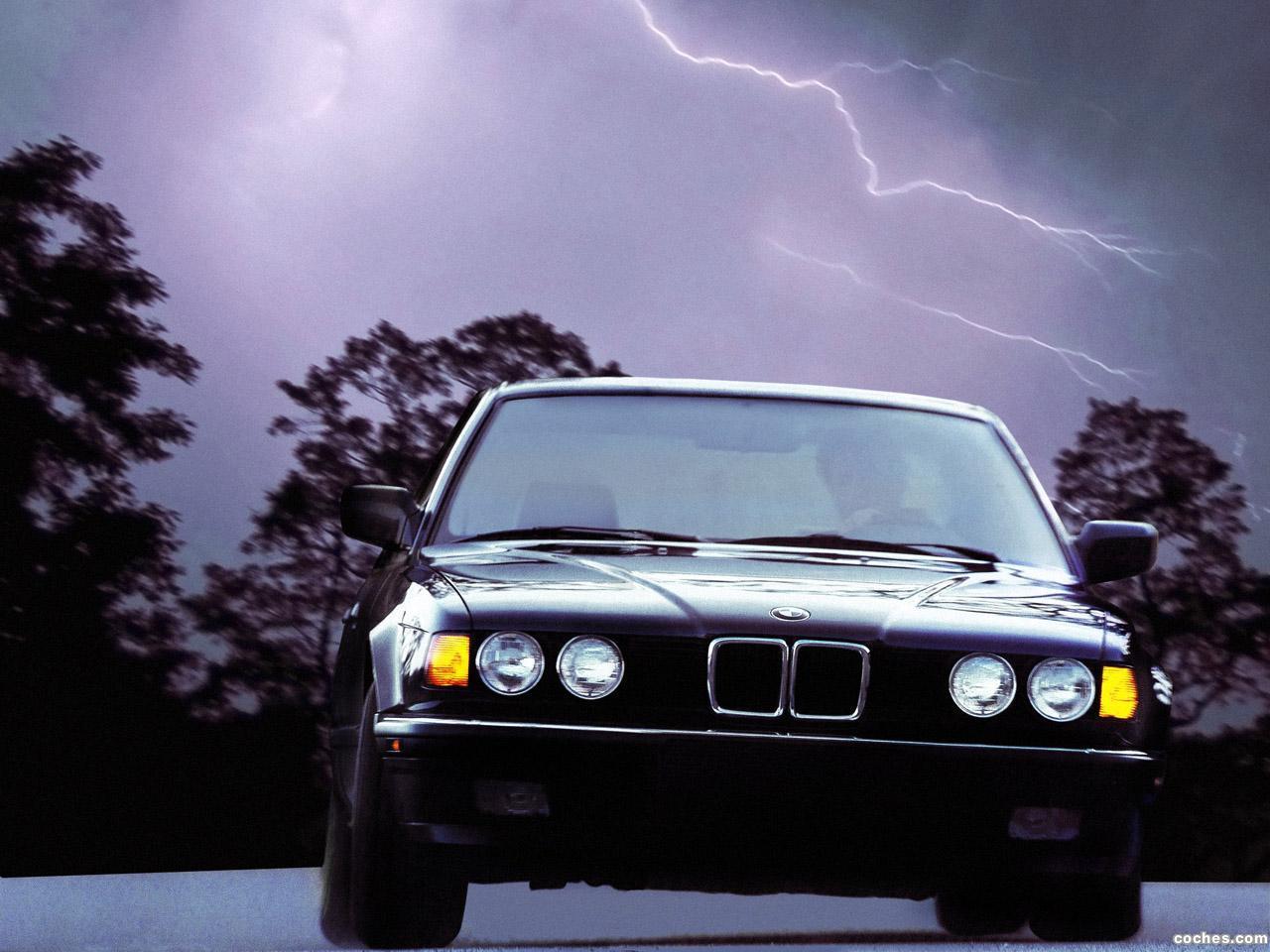 Foto 0 de BMW Serie 7 735i E32 USA 1986