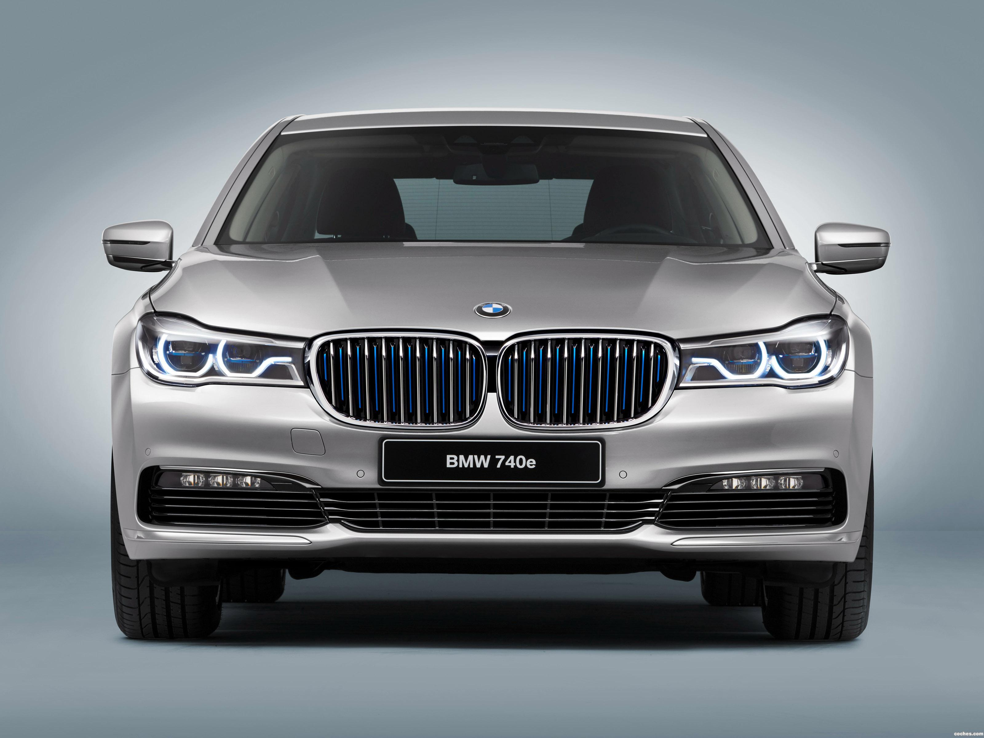 Foto 0 de BMW Serie 7 740e iPerformance G11 2016