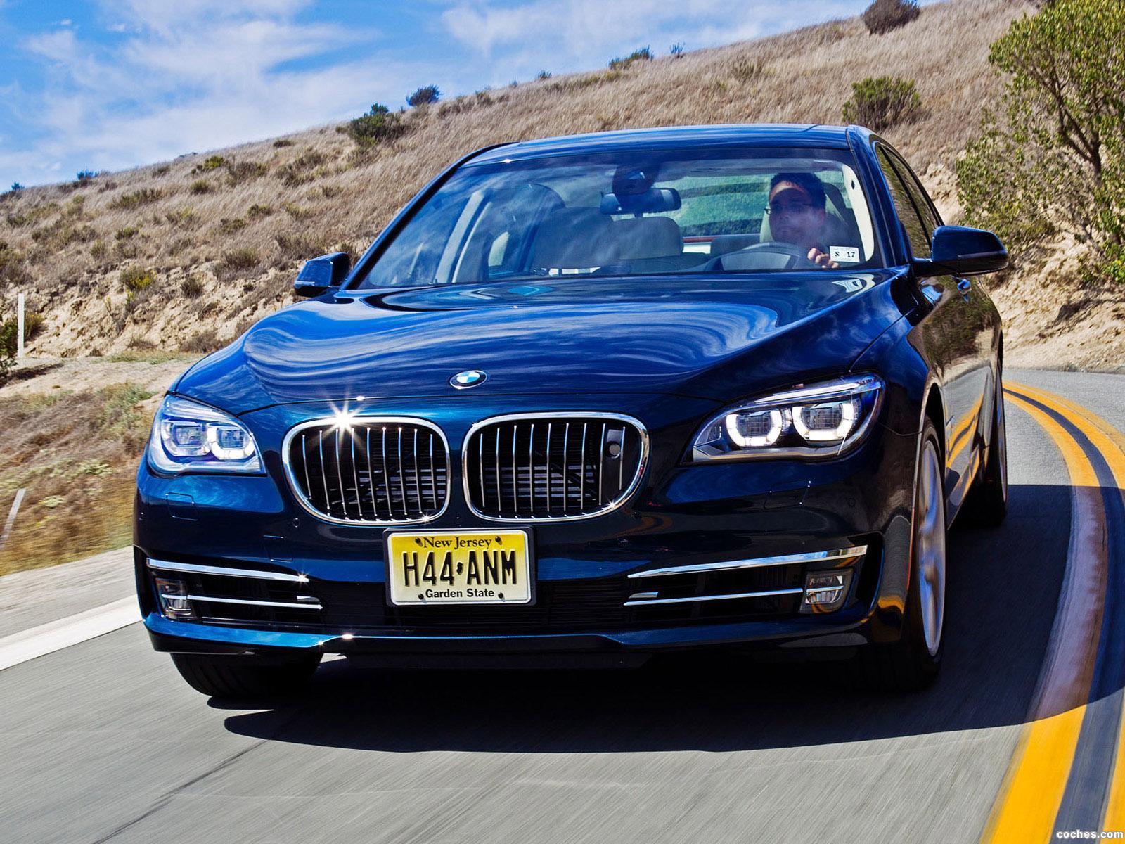 Foto 0 de BMW Serie 7 750Li F02 USA 2012