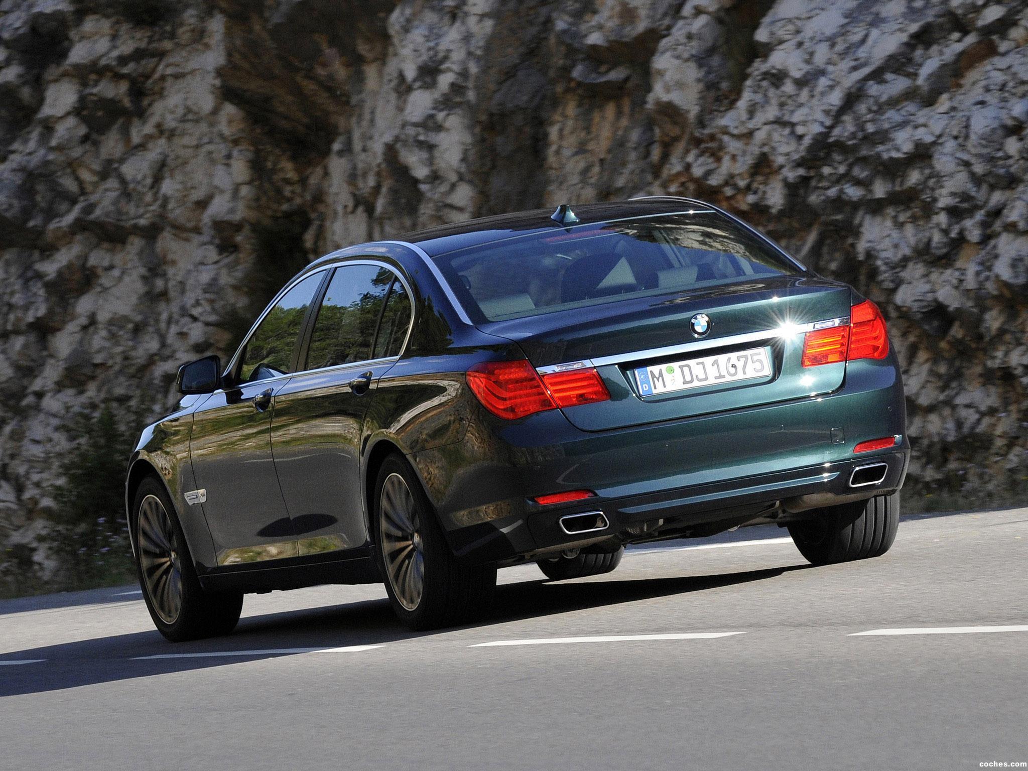 Foto 5 de BMW Serie 7 750Li xDrive F02 2008