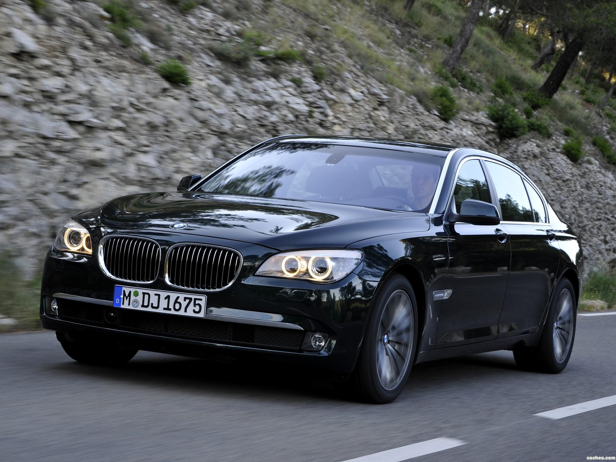 Foto 0 de BMW Serie 7 750Li xDrive F02 2008