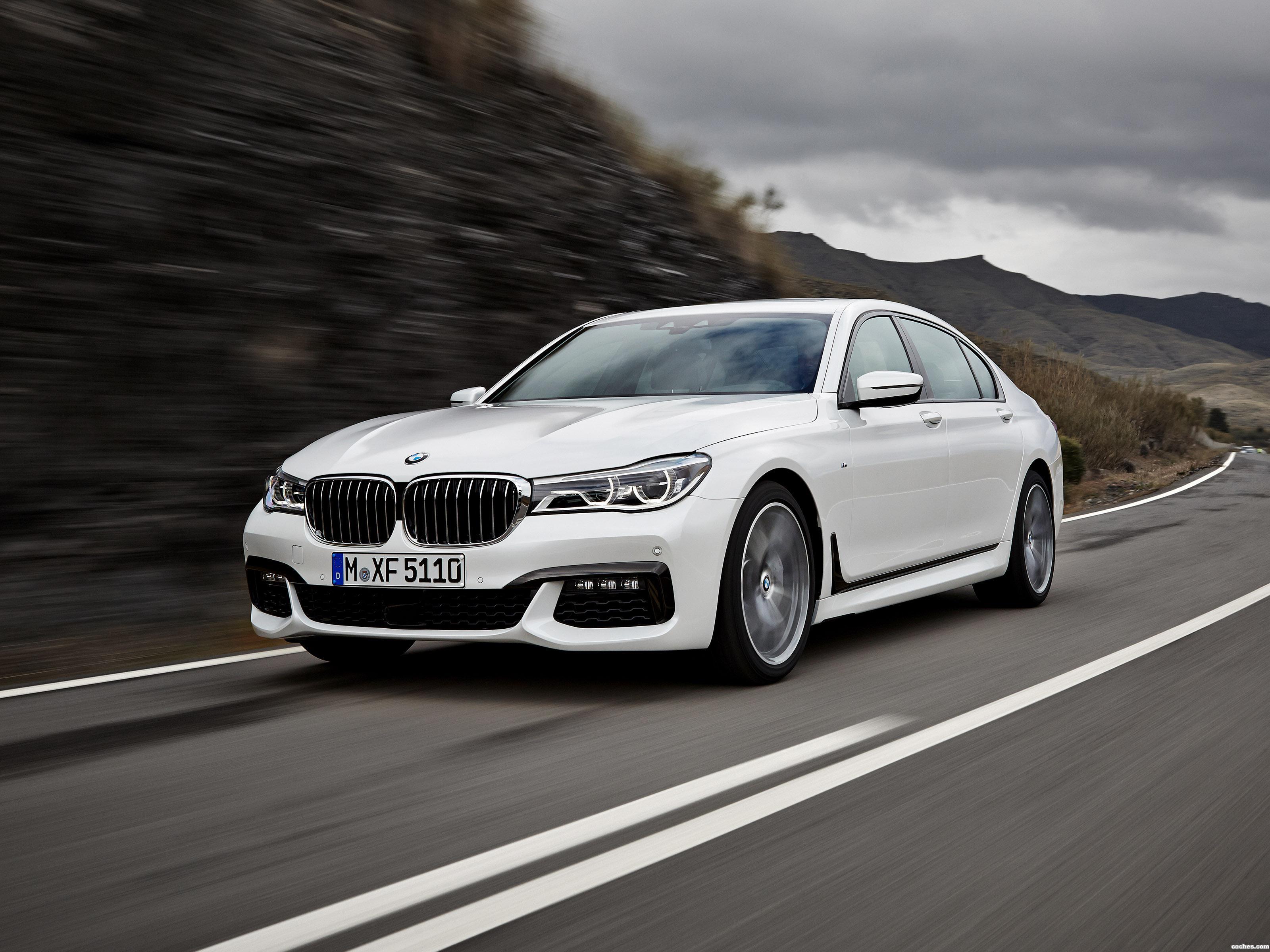 Foto 0 de BMW Serie 7 750Li xDrive M Sport G12 2015