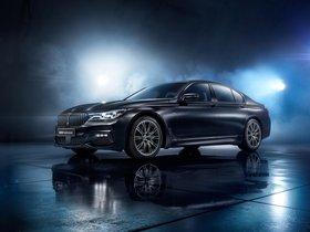Ver foto 2 de BMW Serie 7 750i Black Ice Edition G11 2017