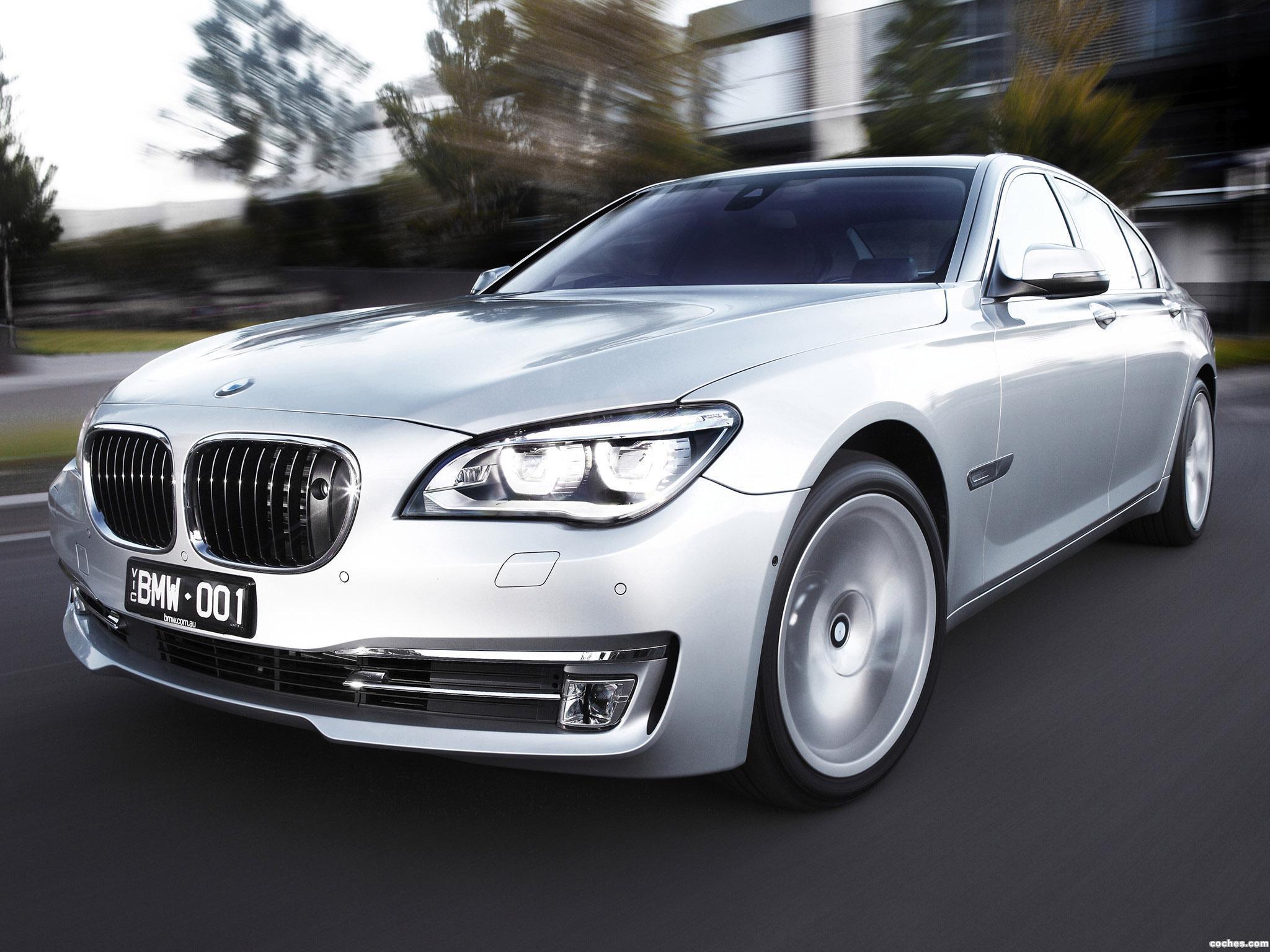 Foto 0 de BMW Serie 7 750i F01 Australia 2012