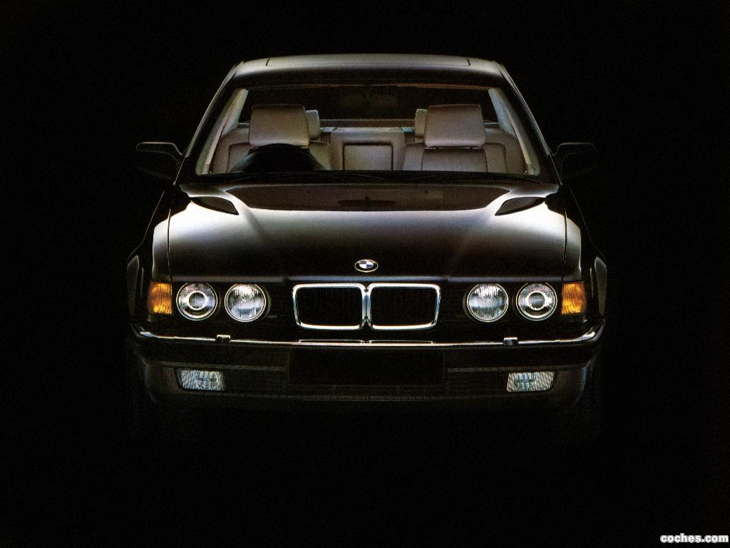 Foto 3 de BMW Serie 7 750il E32 UK 1987