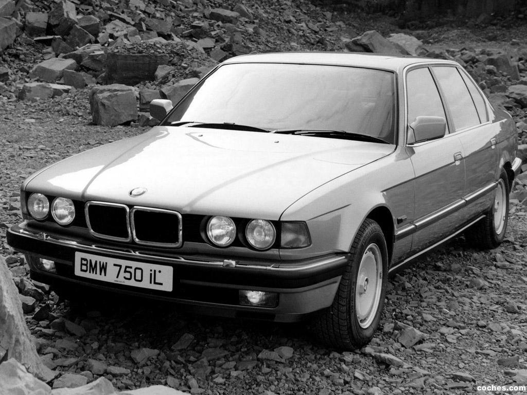 Foto 2 de BMW Serie 7 750il E32 UK 1987