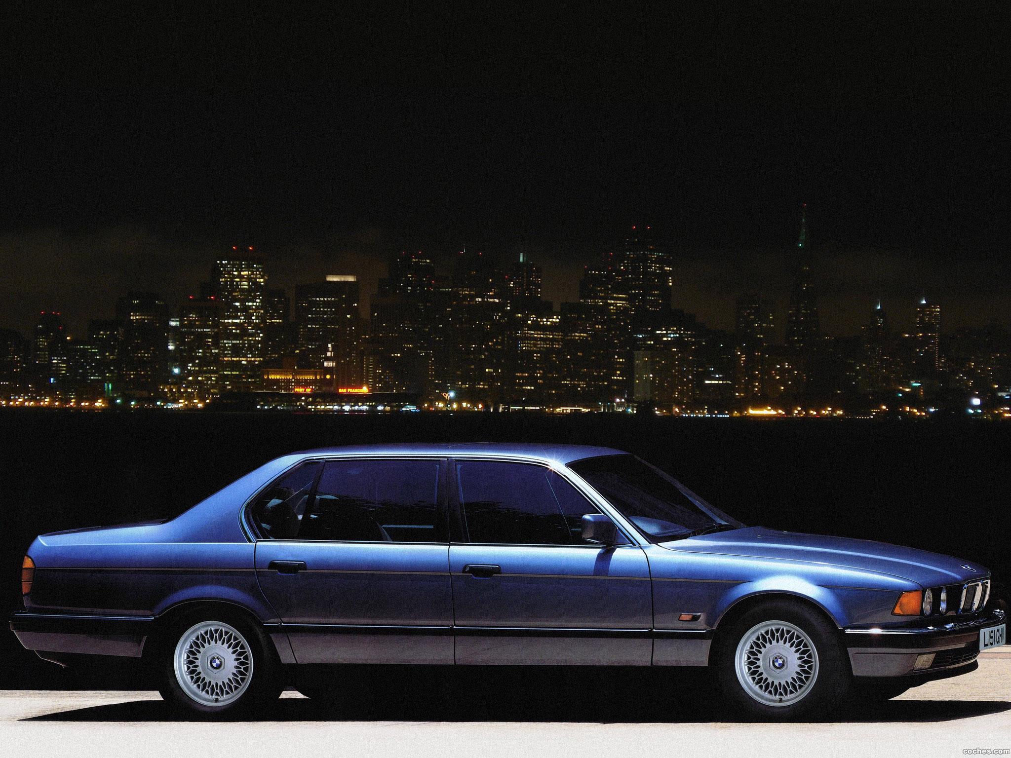 Foto 1 de BMW Serie 7 750il E32 UK 1987