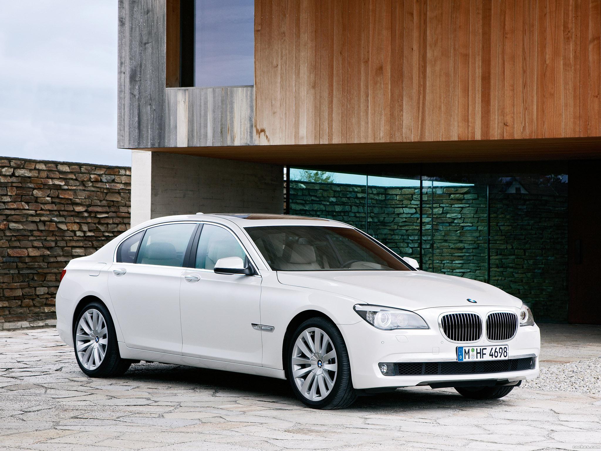 Foto 2 de BMW Serie 7 760 Li 2009