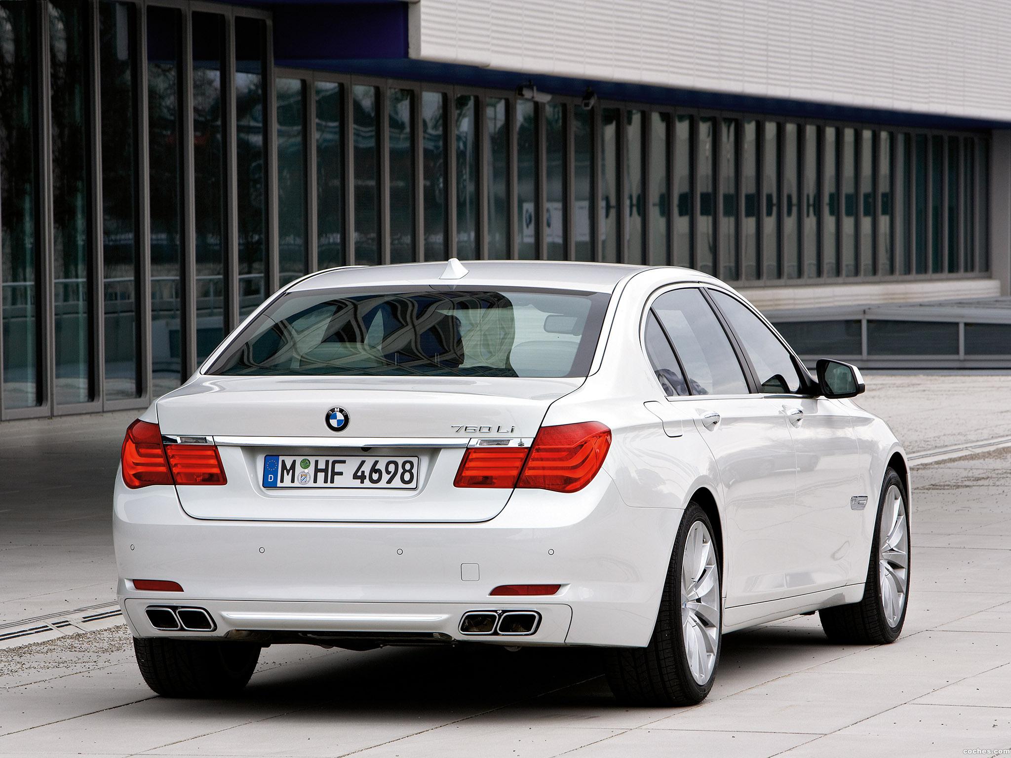 Foto 10 de BMW Serie 7 760 Li 2009