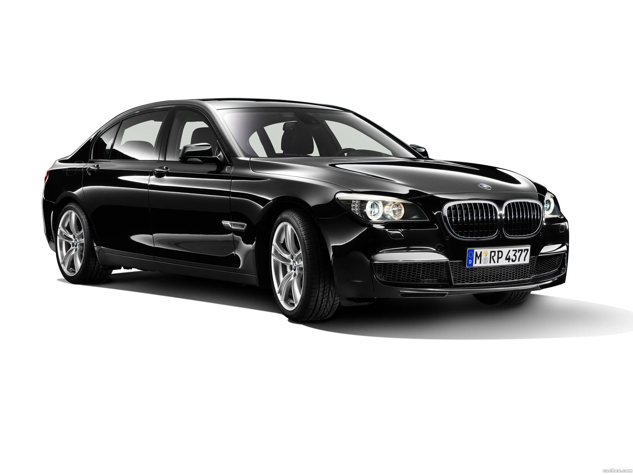 Foto 0 de BMW Serie 7 760Li M Spots Package 2009