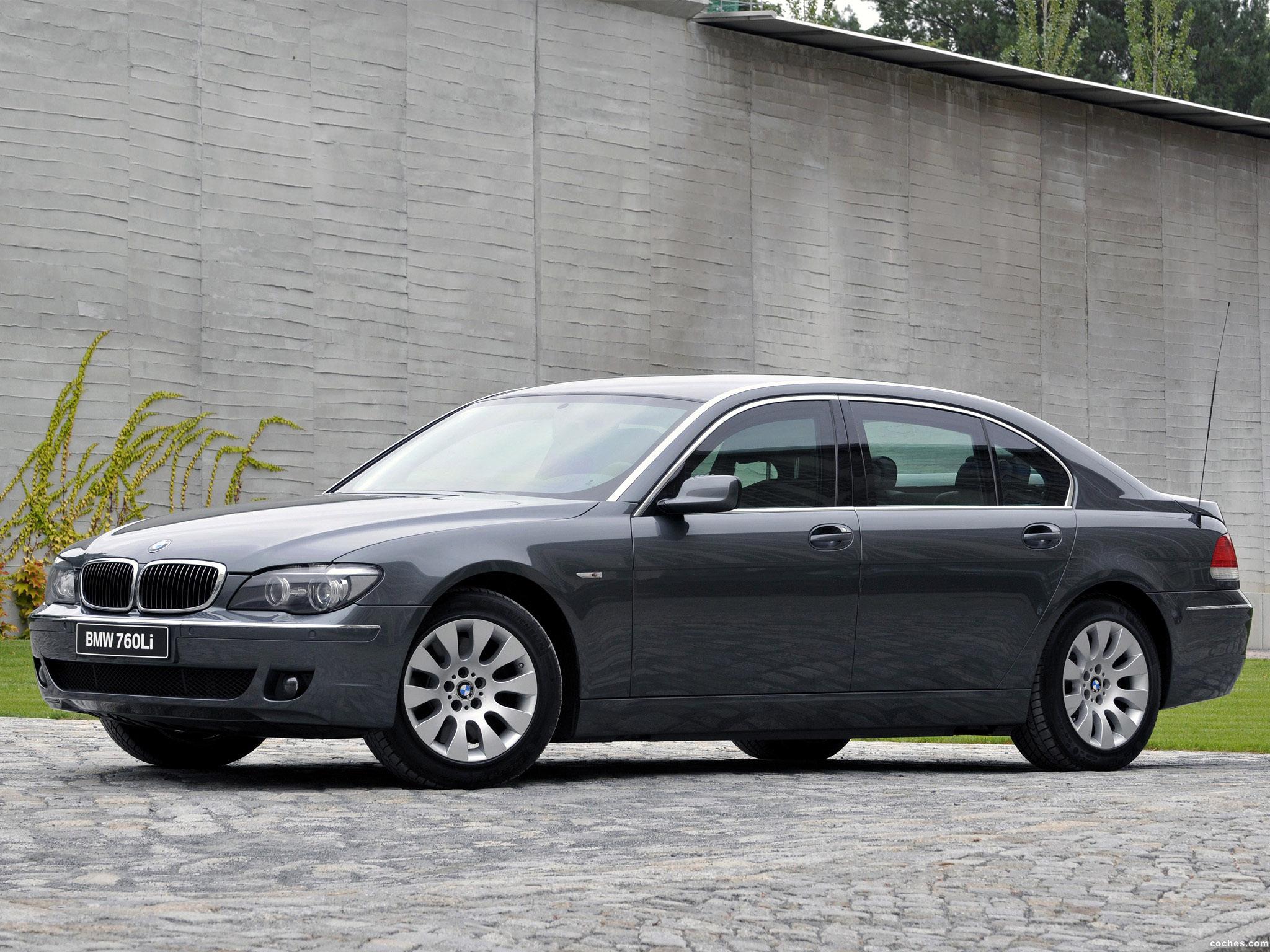Foto 0 de BMW Serie 7 760Li Security E66 2005